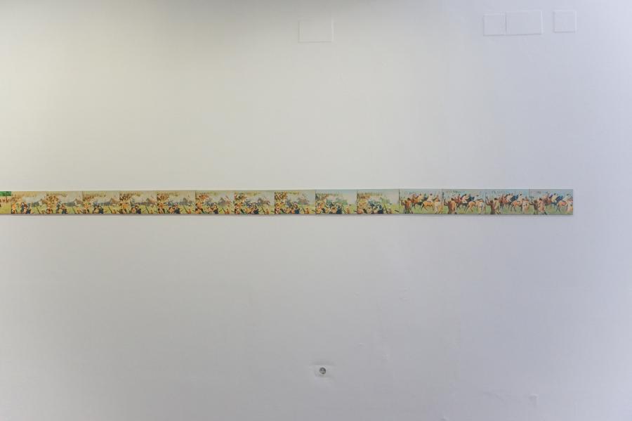 Iván Candeo, Taita Boves (detalle), 2015. Vista de la exposición en Alarcón Criado, Sevilla, España. Foto cortesía del artista