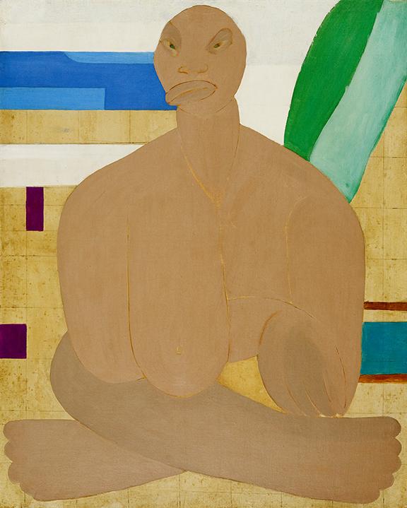 Tarsila do Amaral, A Negra (segunda versión), ca. 1940, óleo sobre tela, 100 x 80 cm. São Paulo, Brasil