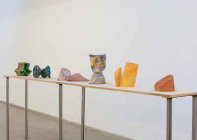 Mariana Castillo Deball, Mathematical distortions, 2019, escayola. Foto cortesía de la galería