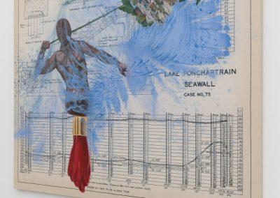 Las galerías James Cohan y Kavi Gupta presentan la obra de la artista dominicana Firelei Báez en la sección Diálogos de Frieze New York 2019. Foto: Mark Blower. Cortesía: Mark Blower/Frieze