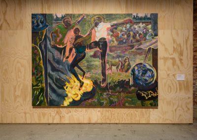 Michael Armitage, Various works, 2019. 58° Bienal de Venecia (2019) [Arsenale]. Foto: Andrea Avezzù. Cortesía: La Biennale di Venezia