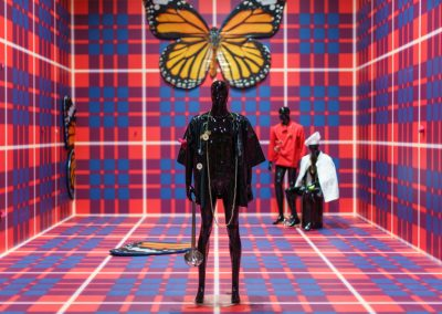 Anthea Hamilton, varias obras fechadas 2018-2019. 58° Bienal de Venecia (2019) [Arsenale]. Foto: Andrea Avezzù. Cortesía: La Biennale di Venezia
