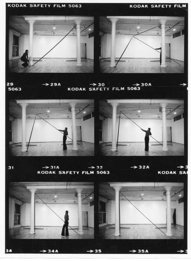 Clear View (one place at a time), de Sylvia Palacios Whitman. The Kitchen, Nueva York, 1976. Foto: Babette Mangolte