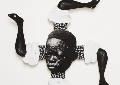 Frida Orupabo, serie Sin Título, 2018-2019. 58° Bienal de Venecia (2019) [Giardini]. Foto: Francesco Galli. Cortesía: La Biennale di Venezia