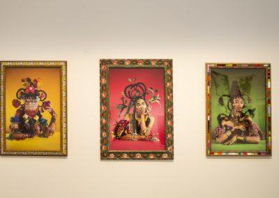 Martine Gutierrez, de la serie Indigenous Woman, 2018. 58° Bienal de Venecia (2019) [Giardini]. Foto: Francesco Galli. Cortesía: La Biennale di Venezia