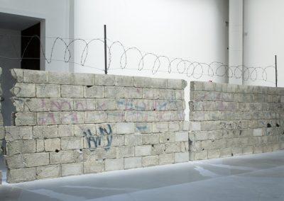 Teresa Margolles, Muro Ciudad Juarez, 2010. 58° Bienal de Venecia (2019) [Giardini]. Foto: Francesco Galli. Cortesía: La Biennale di Venezia