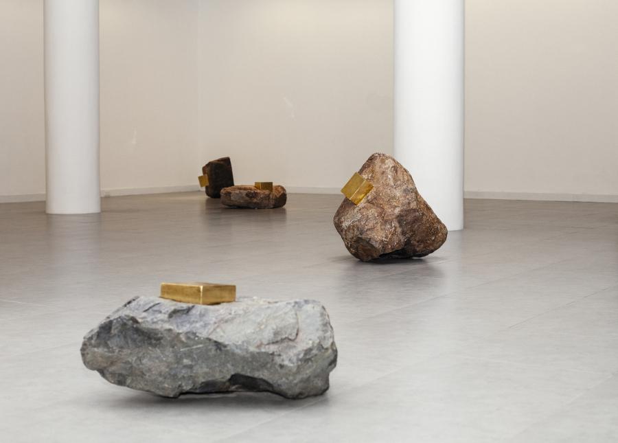 María José Argenzio, Espacios Negativos (2019). Vista de la instalación en la Sala Luis Miró-Quesada Garland, Lima. Cortesía de la artista