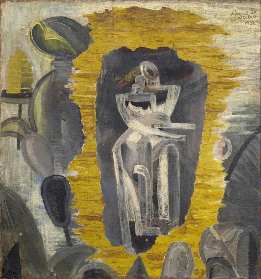 Flávio de Carvalho, Pareja, 1932. Cortesía: Sotheby's, Londres
