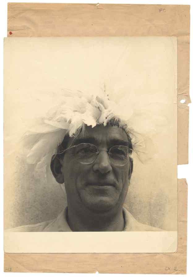 Flávio de Carvalho, circa 1950s. Cortesía: Sotheby's, Londres
