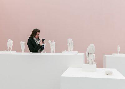 Claudia Fontes en Galería Nora Fisch (Buenos Aires), sección Frame de Frieze New York 2019. Foto: Mark Blower. Cortesía: Mark Blower/Frieze