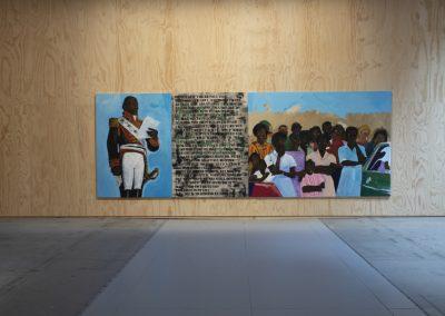 Henry Taylor, Sin título, 2019. 58° Bienal de Venecia (2019) [Arsenale]. Foto: Italo Rondinella. Cortesía: La Biennale di Venezia