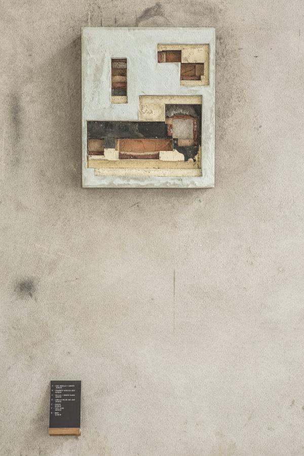 Ishmael Randall Weeks, Código Atemporal 17, 2019, 41 x 34 cm. Foto cortesía de Revolver, Lima.