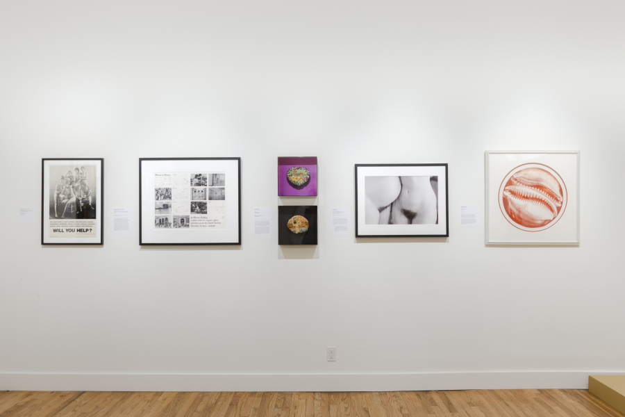 """Exhibition view """"Art after Stonewall, 1969–1989"""", at Grey Art Gallery, New York. Photo: Nicholas Papananias. Courtesy: Grey Art Gallery"""