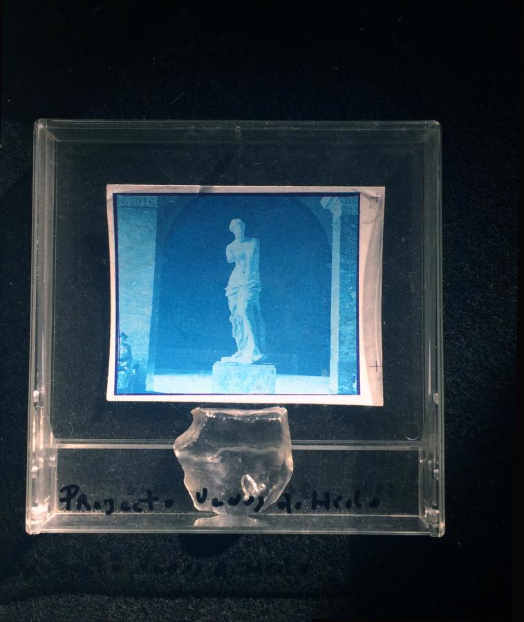 Archivo Mezza, 1972-1979. Proyecto Venus de Hielo. Cortesía: D21