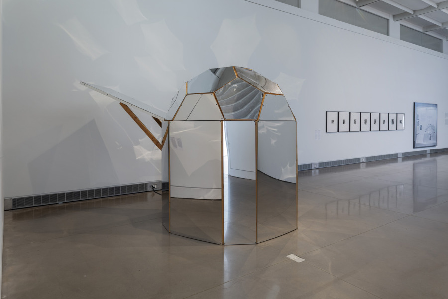 Beatriz Cortez at Mundos Alternos: Art and Science Fiction in the Americas. Exhibition view: Queens Museum, New York, 2019. Courtesy: Queens Museum