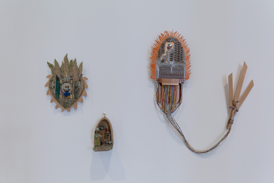 Marion Martinez at Mundos Alternos: Art and Science Fiction in the Americas. Exhibition view: Queens Museum, New York, 2019. Courtesy: Queens Museum