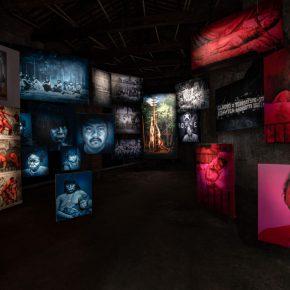 Voluspa Jarpa, La Galería de Retratos Subalternos, Miradas Alteradas. Pabellón de Chile, 58ª Bienal de Venecia, 2019. Foto: Felipe Lavin
