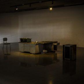 Vista de la exposición ___________en el Pedestal, Museo de Arte Moderno Juan Astorga Anta, Mérida, Venezuela, 2019. Foto cortesía de El Bloque