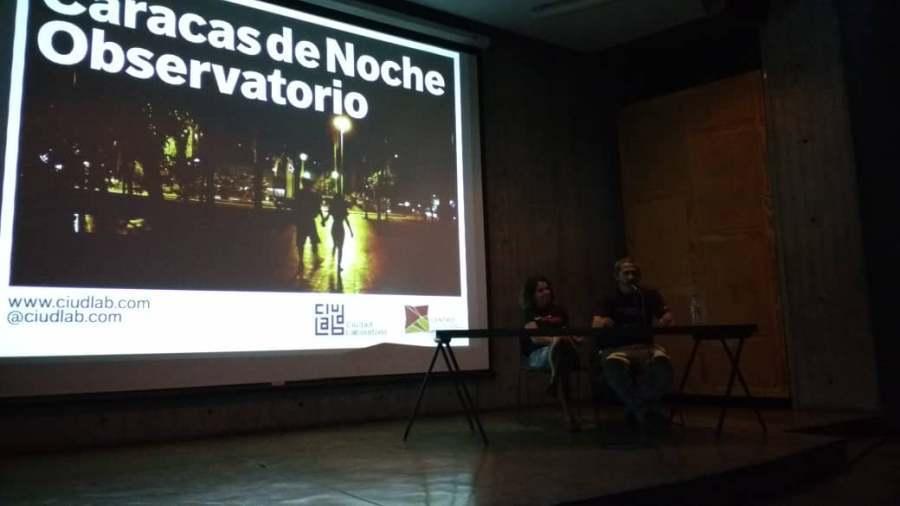 Ciudad Laboratorio. Proyecto Observatorio de la noche caraqueña. Caracas, 2018. Fuente: efectococuyo.com