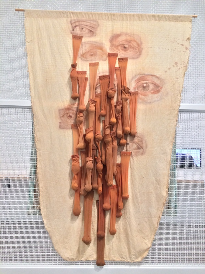 """Patricia Belli. Vista de la exposición """"Virginia Pérez-Ratton. Centroamérica: deseo de lugar"""", en el MUAC, Ciudad de México, 2019. Foto: Andrea Cuevas"""