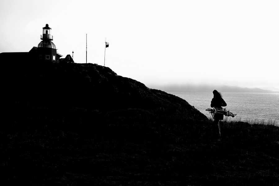 """Teresa Aninat, Pasión Austral, parte de la exposición """"Marea: Arte y espacio marítimo"""", en Centex, Valparaíso, Chile, 2019. Foto cortesía de Centex"""