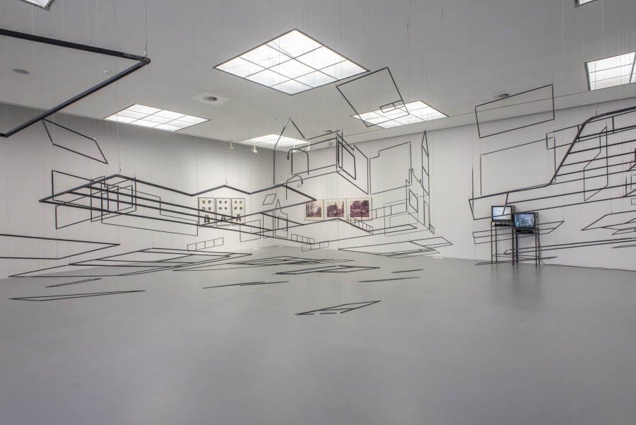 Bart Prinsen, Point of Convergence, 2019. Courtesy of the artist. Installation view at M HKA