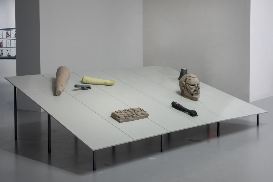 Paul Hendrikse, Quiet Signs, 2019. Courtesy of the artist. Installation view at M HKA