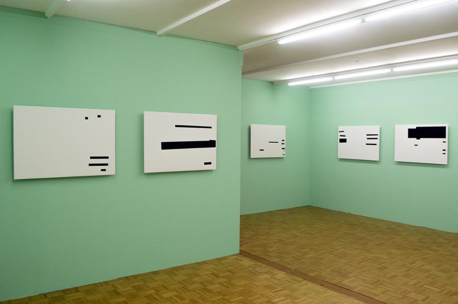 """Vista de la exposición """"No me pongan en lo oscuro"""", de Jesús Hdez-Güero, en o.T Raum für Aktuelle Kunst, Lucerna, Suiza. Cortesía del artista"""