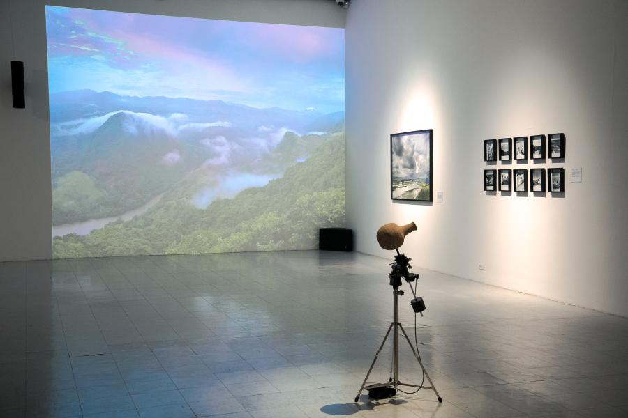 """Vista de la exposición """"La naturaleza de las cosas: Humboldt, idas y venidas"""", en el Museo de Arte de la Universidad Nacional de Colombia, Bogotá, 2019. Foto: Goethe-Institut/Urniator Studio, Juan David Padilla Vega"""
