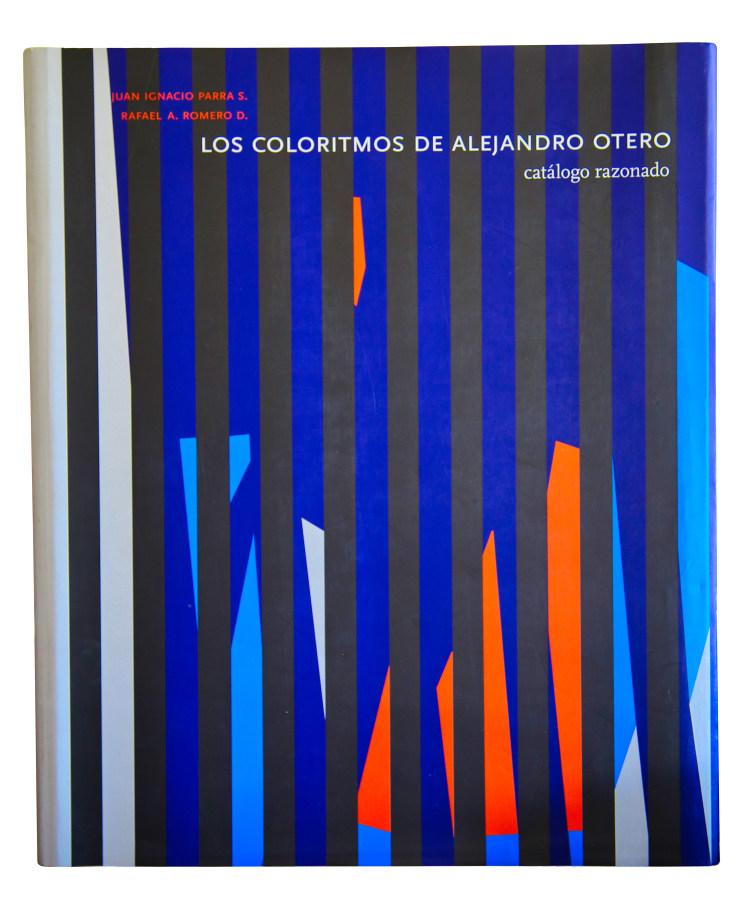 Portada de Los Coloritmos de Alejandro Otero. Catálogo razonado. Foto: Rafael Santana