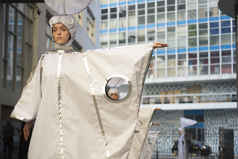 Eduardo Navarro, Predição Instantânea do Tempo (Predicción Instantánea de Tiempo), proyecto encargado por Pivô, São Paulo, 2019. Foto: Julia Thompson