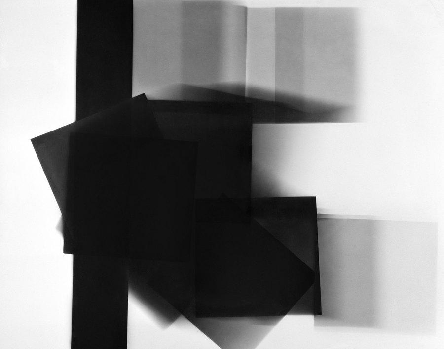 William Klein, Blurred squares, Paris, 1952 ©William Klein