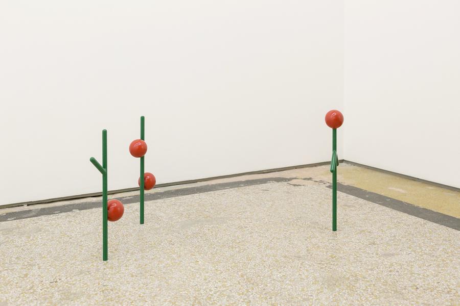 """Engel Leonardo, Flor de Mandacaru, 2019. Vista de la exposición """"Manoguayabo"""" en DiabloRosso, Panamá, 2019. Foto cortesía de la galería"""