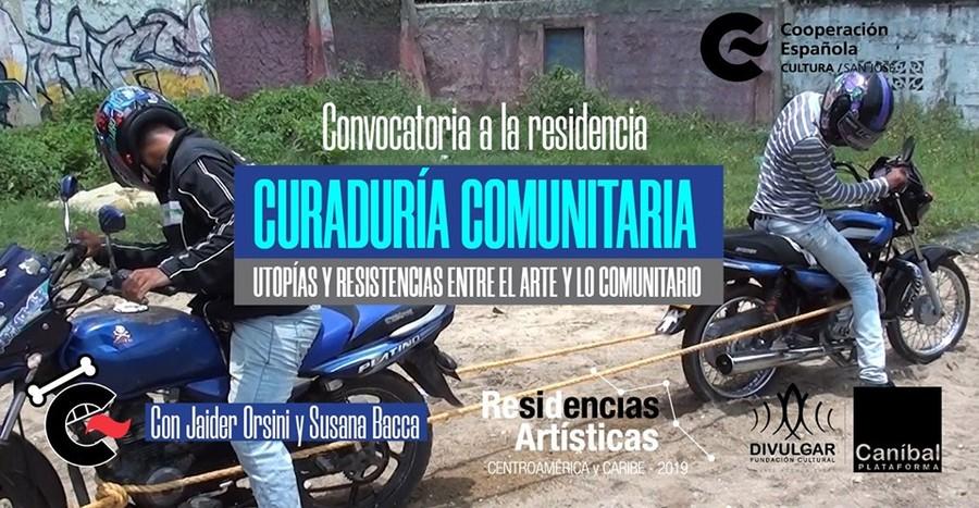 CONVOCATORIA: RESIDENCIA CURADURÍA COMUNITARIA