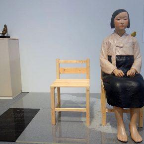 Kim Seo-kyung y Kim Eun-sung, Statue of a girl of peace