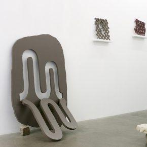 """Vista de la exposición """"Les chutes du temps"""", de Martín Kaulen, en SometimeStudio, París, 2019. Cortesía del artista"""