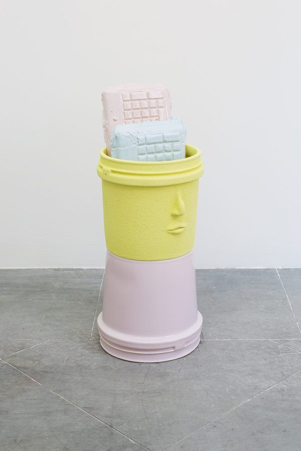 Cristina Tufiño, Mr. Sister, 2019, Lumina and glazed ceramic, 20 x 20 x 36 cm / 7.87 x 7.87 x 14.17 inches. Unique Courtesy: Galería Agustina Ferreyra