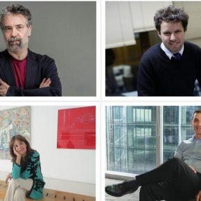 En el sentido de las agujas del reloj: Claudio Golonbek; Juan Carlos Silva; Isabel Aninat; Boris Hirmas