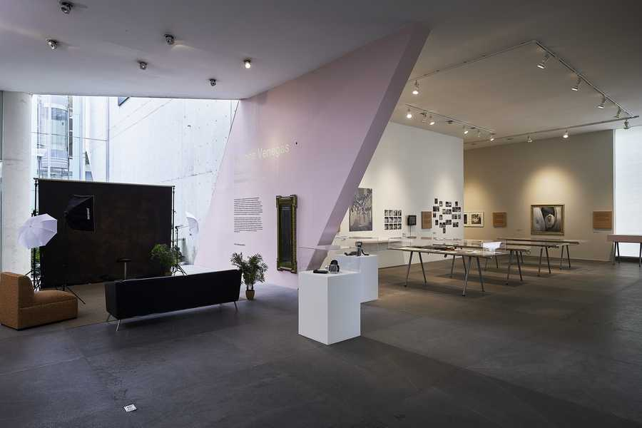 """""""Días únicos: el estudio y su archivo"""", proyecto de la artista Yvonne Venegas. Vista de la exposición en el MUAC/UNAM, Ciudad de México, 2019: Cortesía: MUAC"""