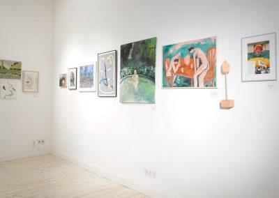"""Chilean Conexión - Young Chilean Artists in Berlin"", residencia de artistas GlogauAir, Berlín, 2019. Foto: Pablo Hassmann"