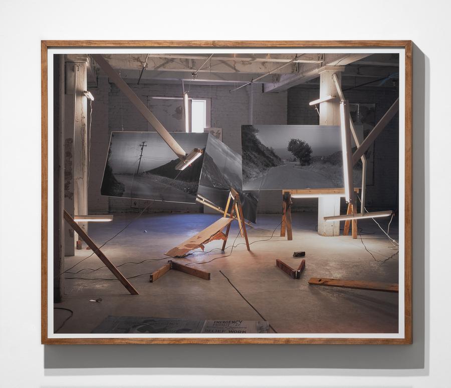 Rodrigo Valenzuela, Road No. 1, 2015, archival pigment print mounted on Dibond, 34 x 42 inches. Edition of 3 plus 1 AP. Courtesy: Upfor