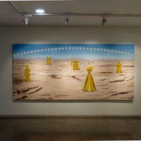 Camilo Ortega, Campo de juego, 2019. Vista de la exposición