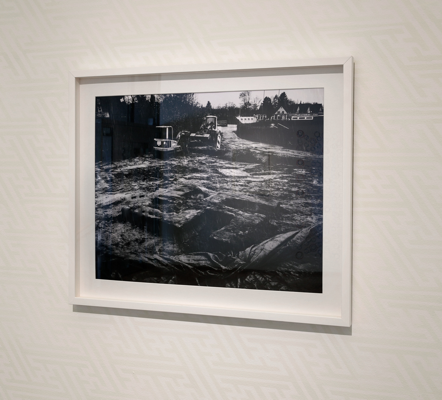 François Bucher, Was Heisst Denken? (¿a qué se le llama pensar? ¿qué nos llama a pensar?), 2018. Foto: Sebastián Mejía