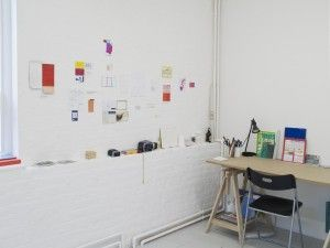 Grace Weinrib, Open Studio, Gasworks, 2015. Residencia apoyada por Fundación AMA. Cortesía de la artista. Foto: Andy Keate