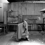 Benjamín Ossa, proceso para esculturas de la exposición