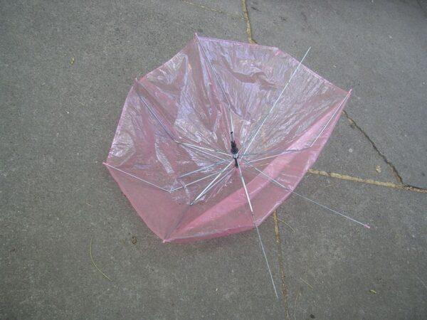 Paraguas-Rosa