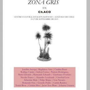 ARTISHOCK PRESENTA ZONA GRIS EN FERIA CH.ACO 2015