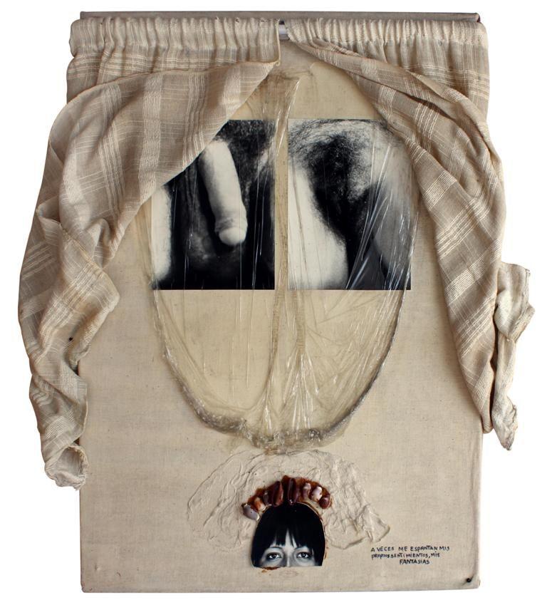 Mónica Mayer, A veces me espantan mis fantasías, 1977. Cortesía de la artista