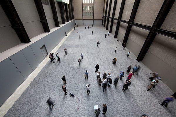 Weiwei-Installation-Aerial-view