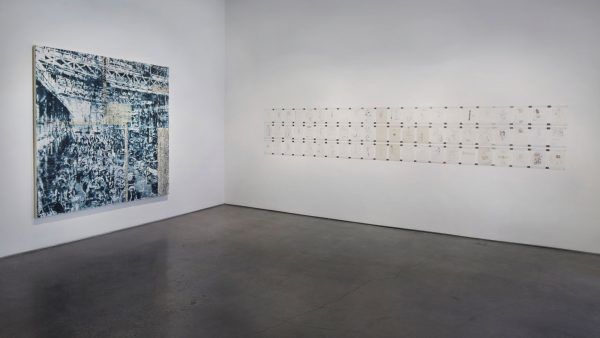 "An image from Jorge Tacla's ""Hidden Identities"" installation at Cristin Tierney gallery in Chelsea."